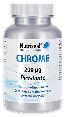 Chrome picolinate 200 µg - 90 comprimés