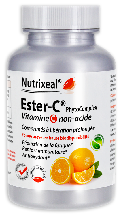Ester-C PhytoComplex vitamine C Nutrixeal