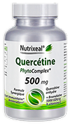 QUERCETINE Anhydre, 500 mg (Phytocomplexe avec Bromelaine et vitamine C)