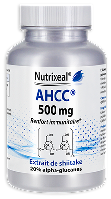 AHCC (Active Hexose Correlated Compound), extrait concentré de shiitake