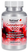 Canneberge / Cranberry 400, haute concentration 40 mg PAC par cp