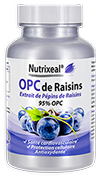OPC de raisin concentration 95%, 50 gélules de 200 mg