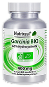 Garcinia cambogia 400 mg, (acide hydroxycitrique, HCA), 90 gel